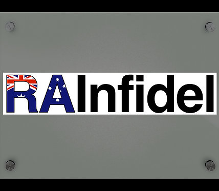 Original RAInfidel Sticker