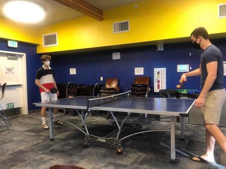 Ping Pong at the Hall