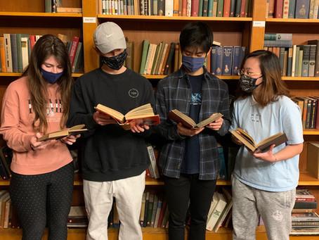 Bowles Hall Book Club!