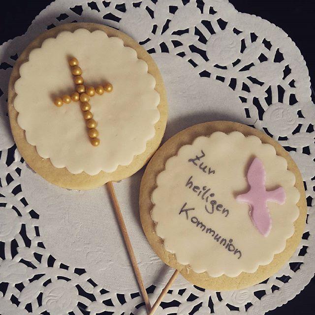 Für alle Erstkommunikanten_ genießt euren Tag morgen #keks #lolli #erstkommunion #konfirmation #silk