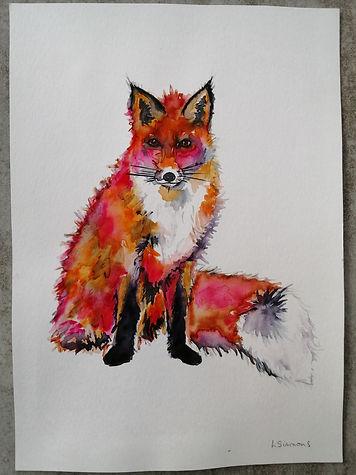 Blushing Fox