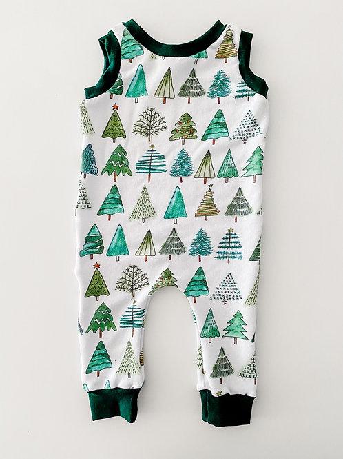 Christmas Tree Romper