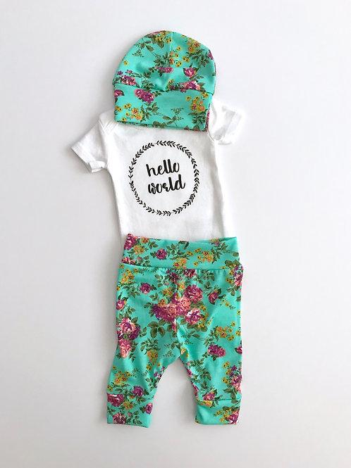 Hello World Newborn Set