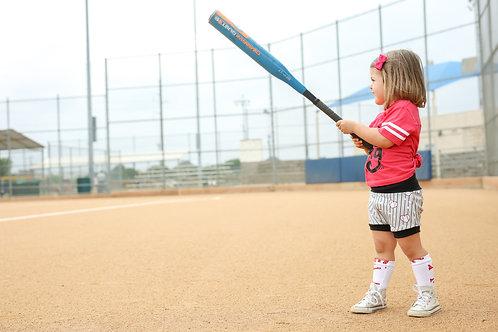 Baseball Hearts Shorties