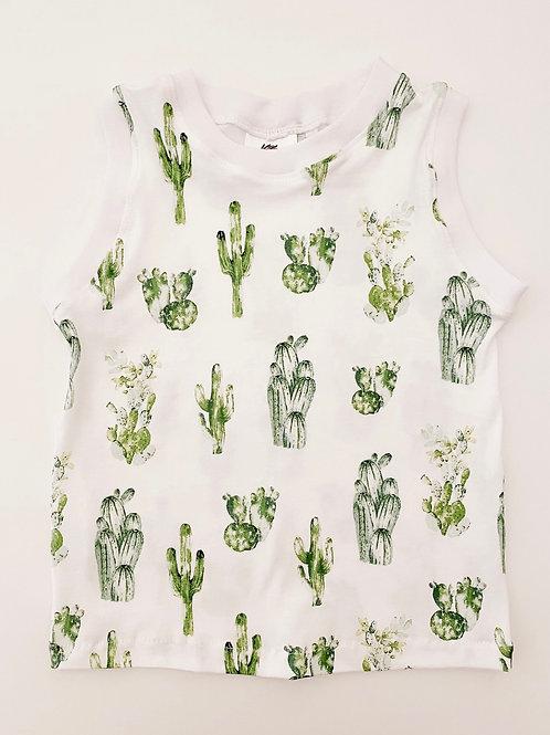 Watercolor Cactus T-Shirt // Tank