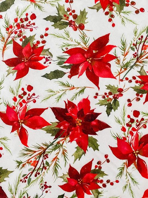 Poinsettia Romper