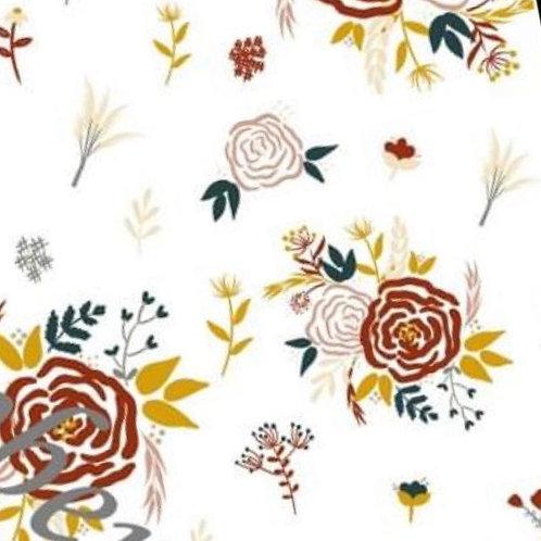 Fall Floral Romper