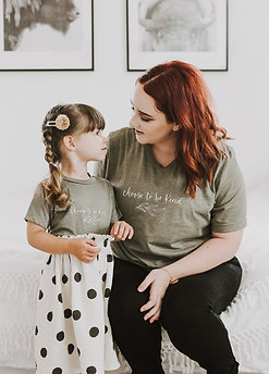 Choose to be Kind | Mommy + Me Set