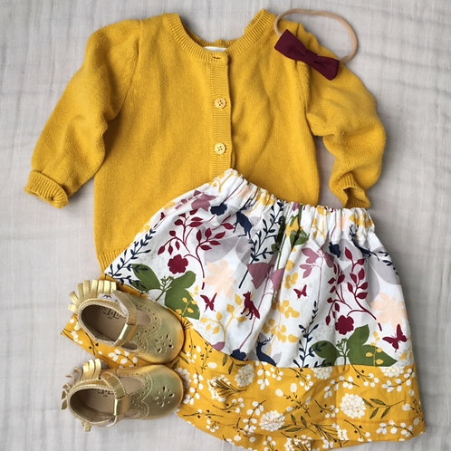 Spring Mustard Floral