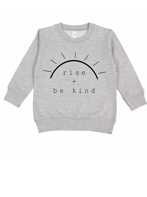 Rise + Be Kind Pullover