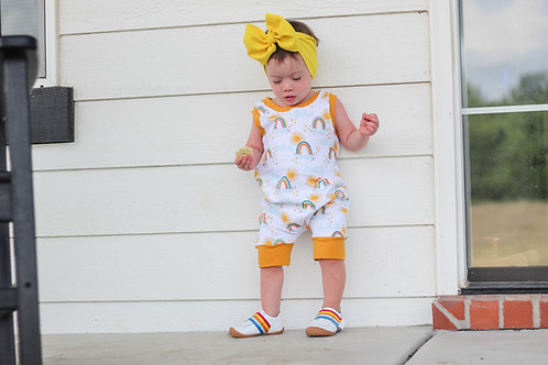 Sunshine + Rainbows Romper