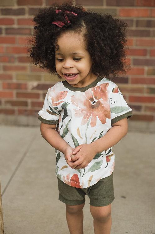 Copper Field T-Shirt // Tank