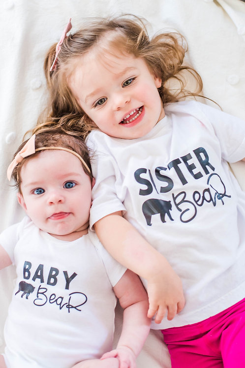 Sibling Bear - Brother Bear, Sister Bear, Baby Bear