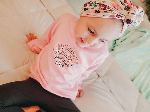 Radiate Positive Vibes Pullover