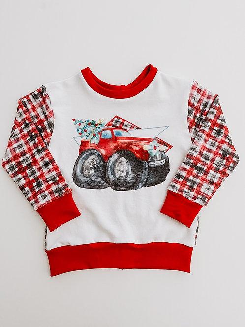 Monster Truck Christmas - Pullover