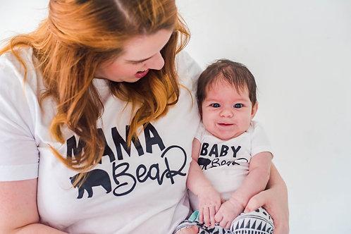 Mama Bear | Baby Bear Mommy + Me Set