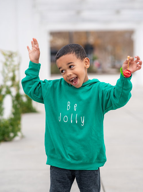 Be Jolly Fleece Sweatshirt