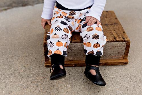 Fall Pumpkin Joggers