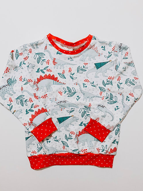 Dino Christmas Sweater