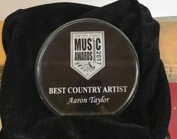 Aaron Pax Taylor VCMA Award 2017