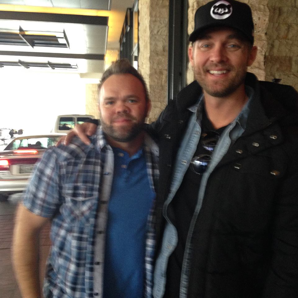 Aaron Pax Taylor and Brett Young