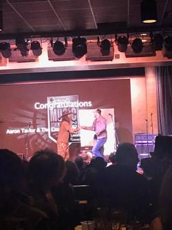 Aaron Pax Taylor VCMA 2017 Award Accepta