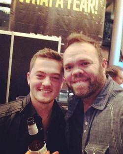 Aaron Pax Taylor and Jordan Rager