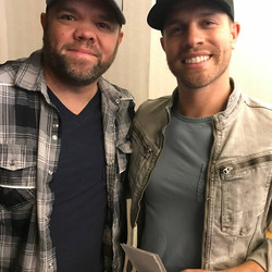 Aaron Pax Taylor and Dustin Lynch