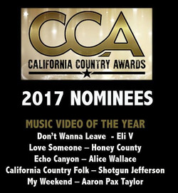 CCA 2017 Video Of the Year Nomination