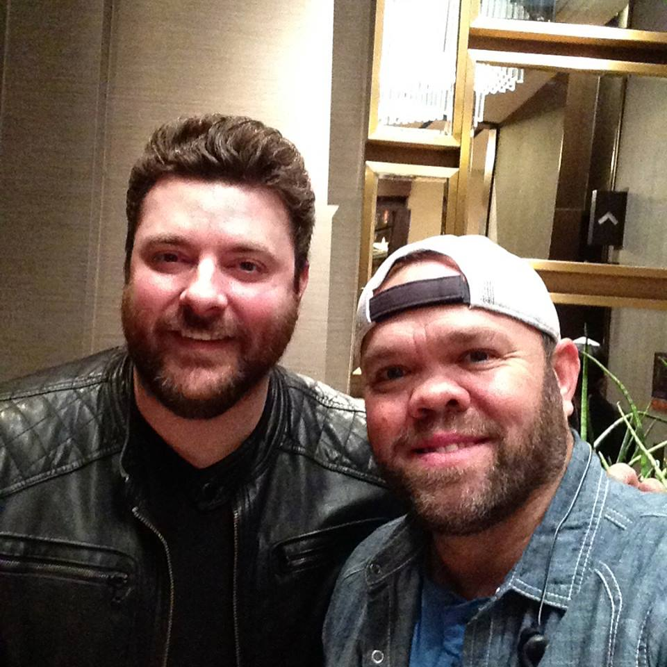 Aaron Pax Taylor and Chris Young