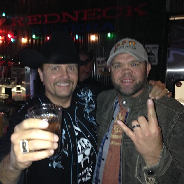 Aaron Pax Taylor and John Rich