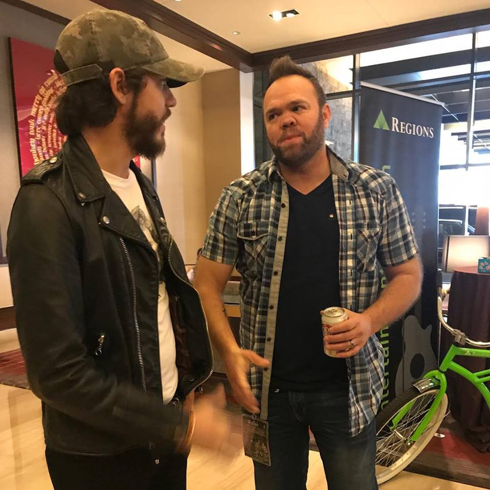 Aaron Pax Taylor and Chris Janson