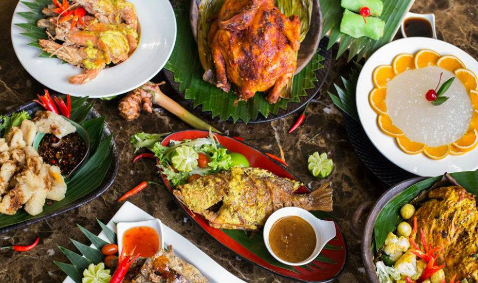 Balinese meal, Plat typique balinais