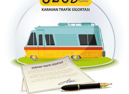 Karavan da Zorunlu Trafik Sigortası