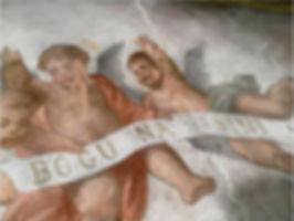 Restauriranje slika, restauracija slika, obnova crkve, restauriranje crkve, tratteggio retuš zidnih slika, faksimilna rekonstrukcija dekorativnog oslika, restauriranje zidnih slika, obnova slika, oslikavanje prostora, zidne slike