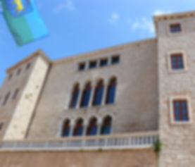 Restauriranje, retuš, rekonstrukcija, strapiranje, obnova, palača, kaštel, zidne slike, restauriranje oslika, obnova spomenika baštine