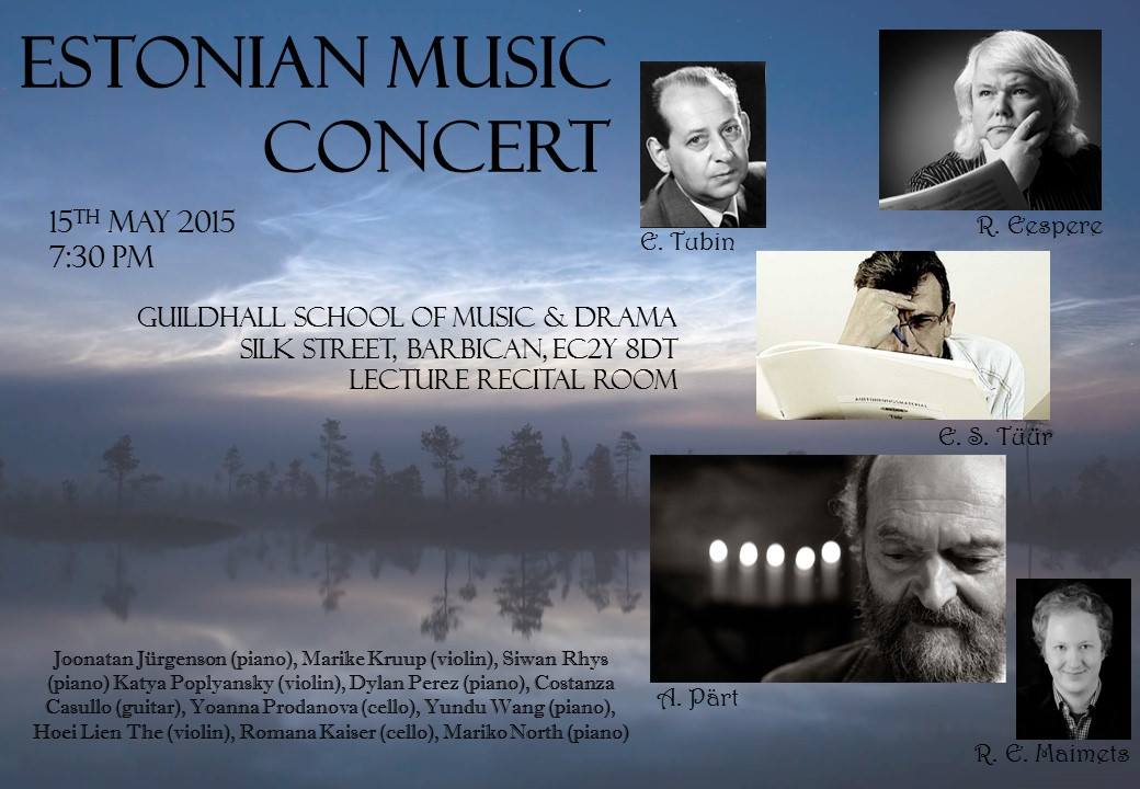 Estonian Music Concert