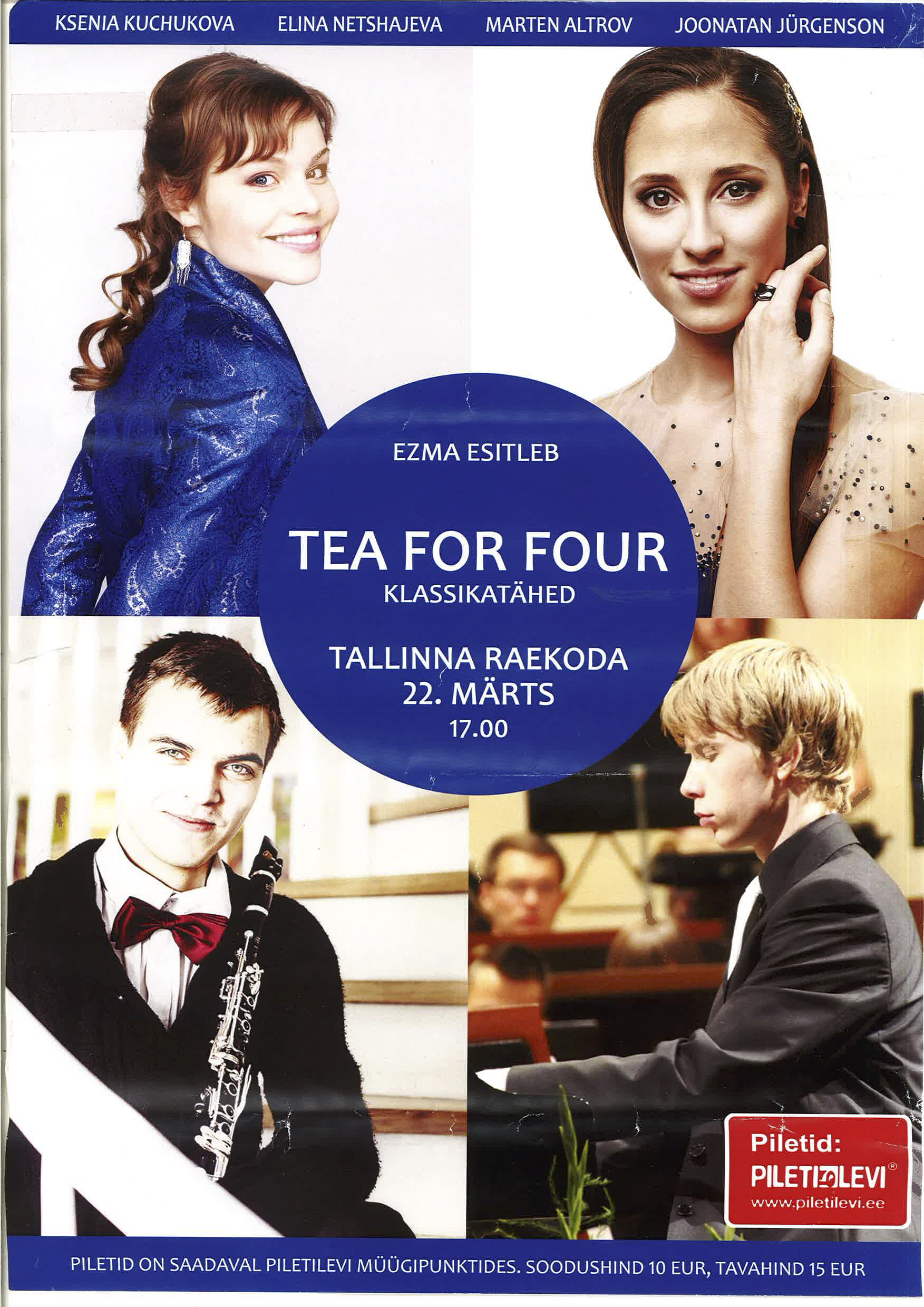 Tea For Four