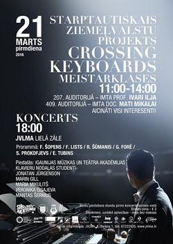 Crossing Keyboards Leedus