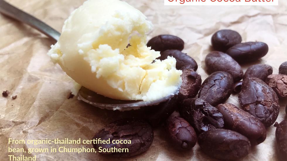 Organic Cocoa Butter (180g jar)