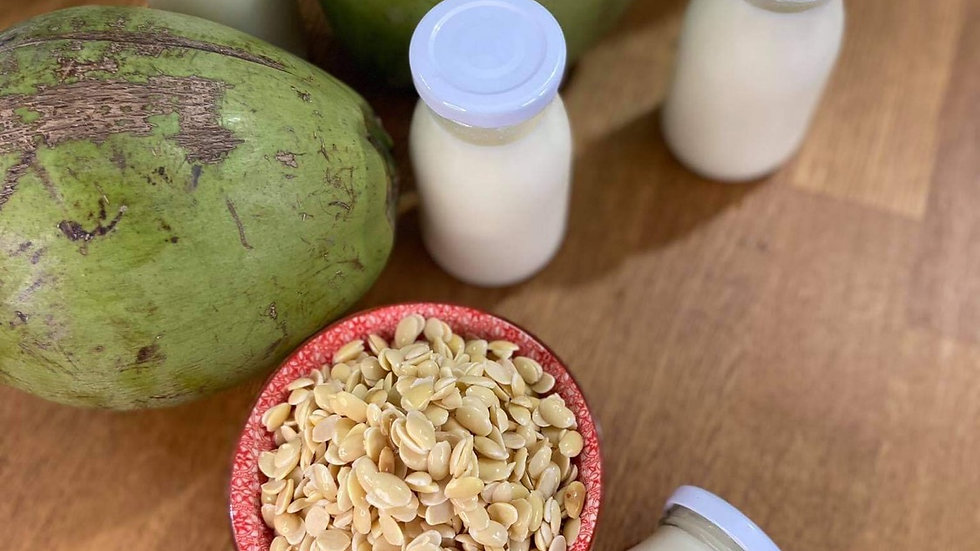 Organic soy milk with coconut nectar (180ml)
