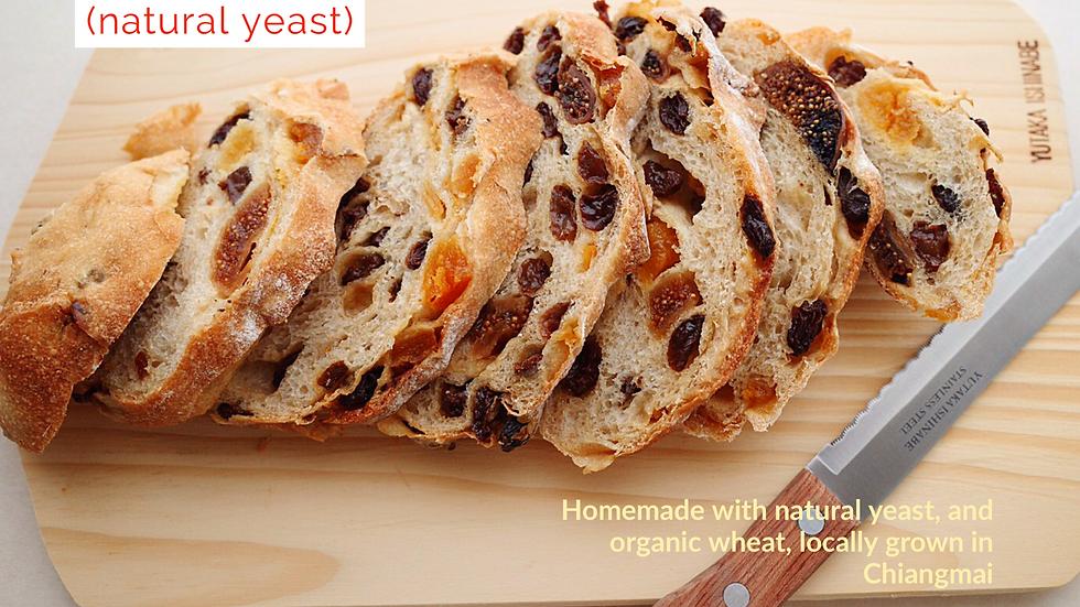 Fruit Sourdough (natural yeast)