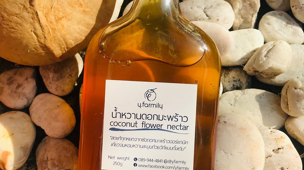 Organic coconut flower nectar (250g)