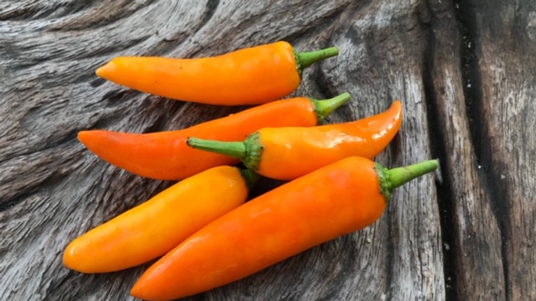 Organic Yellow Chilli Pepper (200g)
