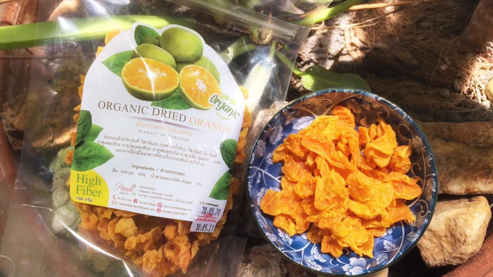 Organic Dried mandarin orange (100g)