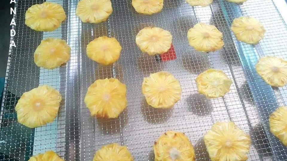 Organic Dried Pineapple (100g)