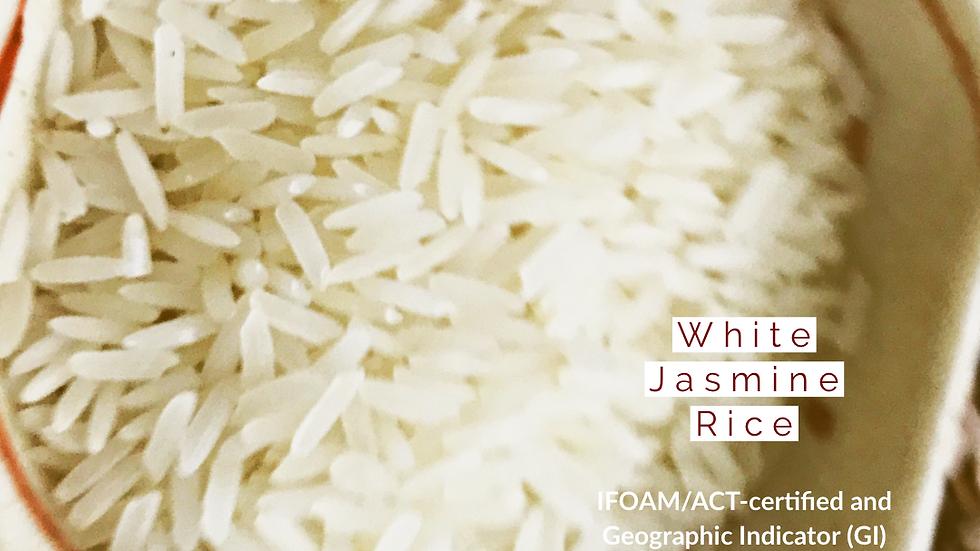 Organic White jasmine rice ~(500g)