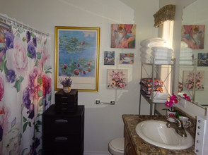 Kathryn Bechen bathroom flower power 1.JPG