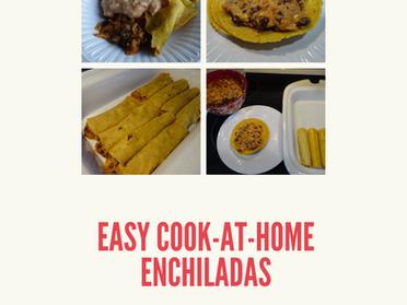 Easy Cook-at-Home Enchiladas