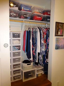 Kathryn Bechen wardrobe organizing